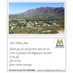 Montagu Country Goodness Gift Postcard