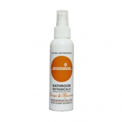 Aromaloo Natural Bathroom Air Freshener - Orange & Rosemary 125ml